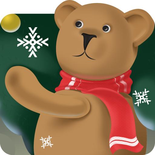 聖誕熊動態壁紙 個人化 App LOGO-APP試玩