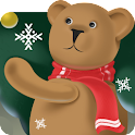 Snowy bears Live Wallpaper HD icon