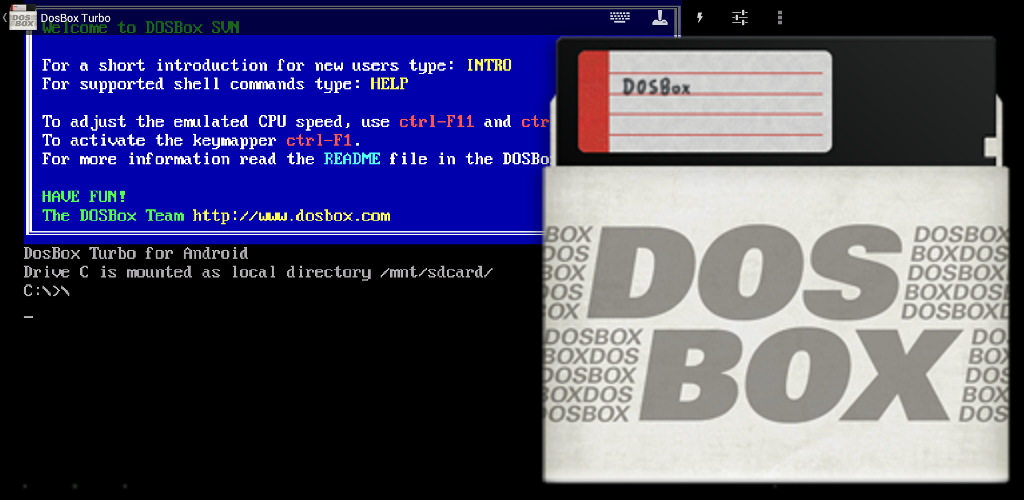DosBox Turbo 2 2 0 Apk Download - com fishstix dosbox APK free