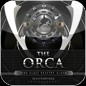 Orca 2 clock widget