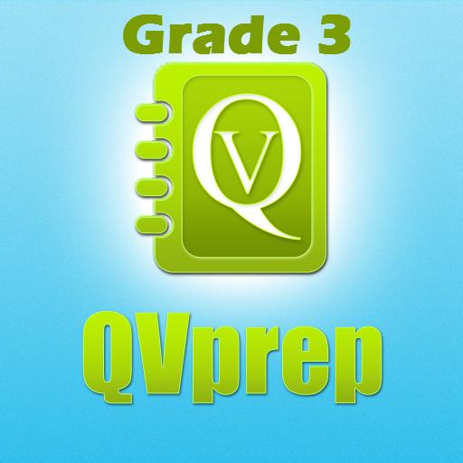QVprep3:数学英語グレード3 教育 LOGO-玩APPs