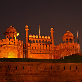 Red Fort by Abhishek Ghosh - Buildings & Architecture Architectural Detail