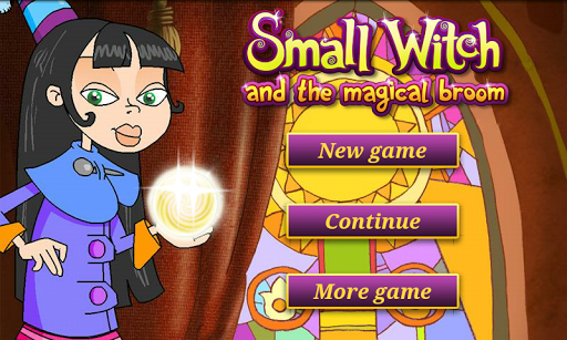 Small Witch and the Magic Broo
