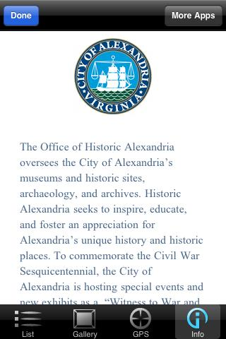 Civil War Tour Alexandria - screenshot