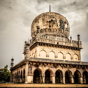 """""""We'll be remembered more for what we destroy than what we create.""""  by Manoj Swaminathan - Buildings & Architecture Statues & Monuments ( history, tombstone, tombs, qutab, monument, qutab shahhi,  )"""