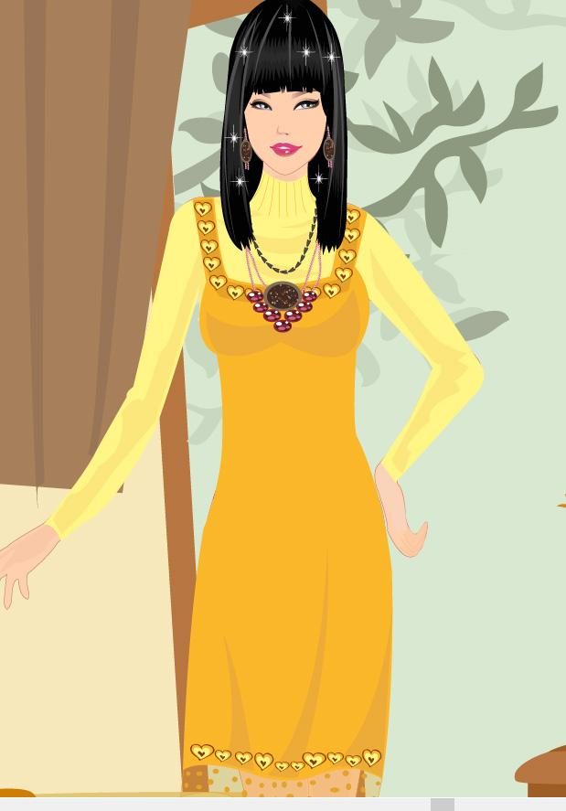 Charming Girl Dress Up Game - screenshot