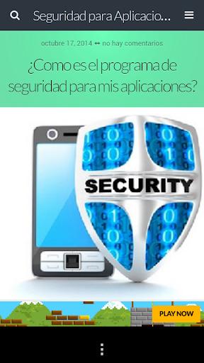 Seguridad para Aplicaciones