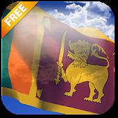 3D Sri Lanka Flag LWP