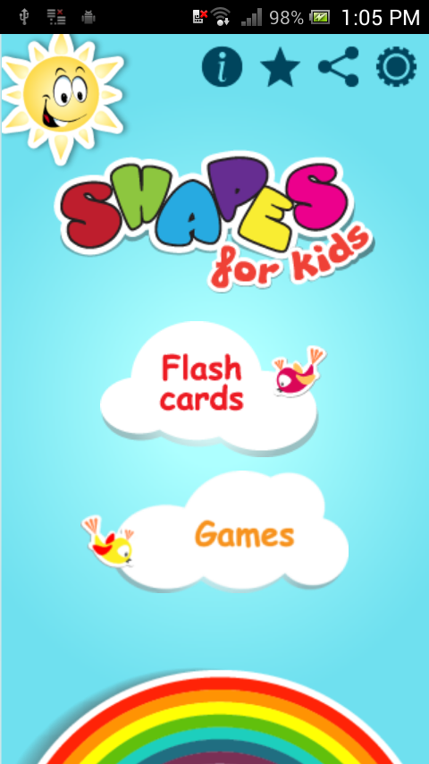 Shapes for Kids - screenshot