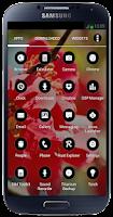 Screenshot of Black&White Launchers Theme