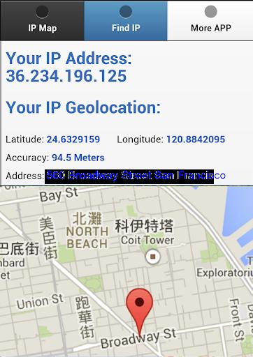 のIP検索場所