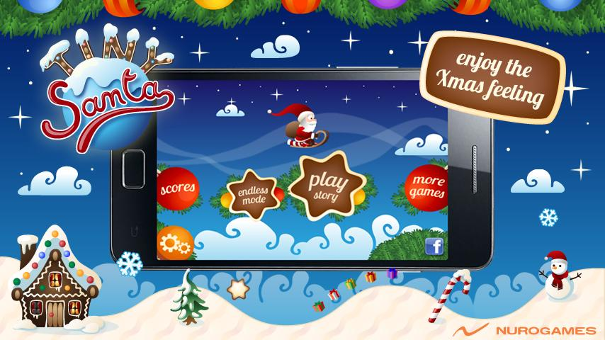 Tiny Santa - Xmas Hills - Pro- screenshot