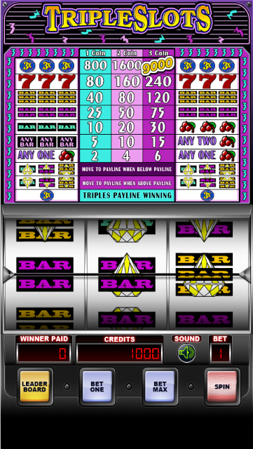 Triple Slots - Slot Machine- screenshot