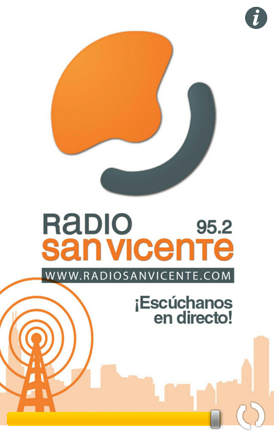 Radio San Vicente: captura de pantalla
