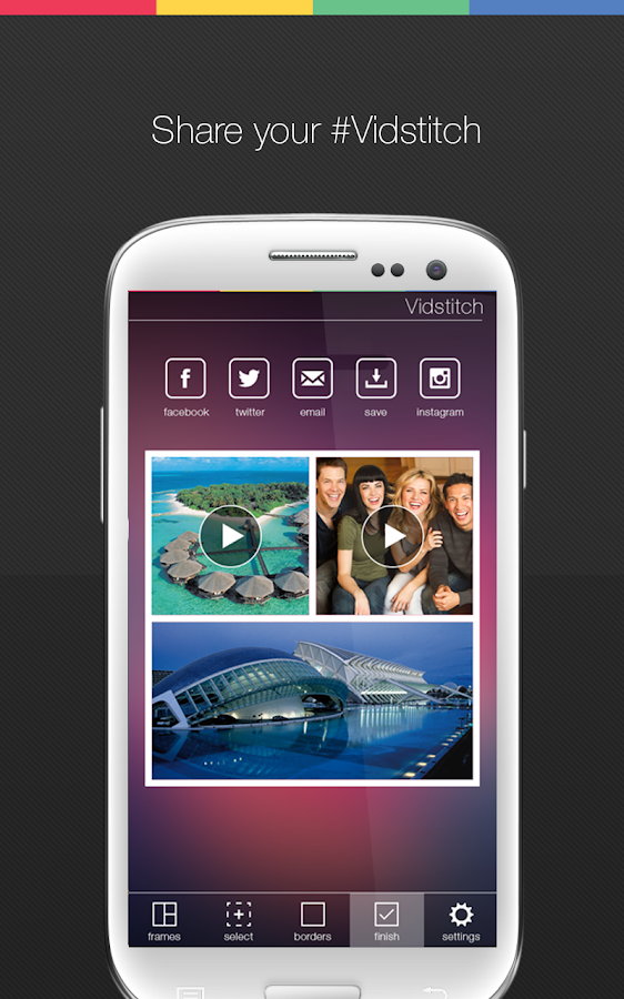 Vidstitch Pro - Video Collage - screenshot