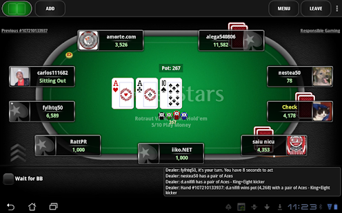 PokerStars Lite - Free Poker - screenshot thumbnail