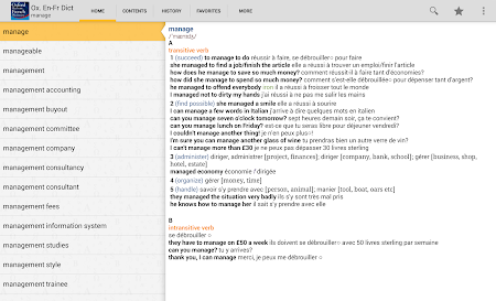 Oxford French Dictionary TR 4.3.136 screenshot 75237
