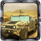 Military car off road 3d