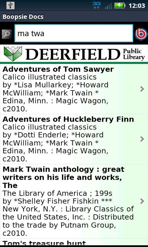 Deerfield Mobile- screenshot