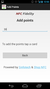 NFC Fidelity screenshot 2