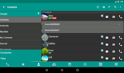 DW Contacts & Phone & Dialer v2.9.3.2-pro Mod APK 10