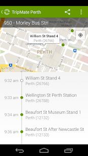 TripMate Perth Transit App - screenshot thumbnail