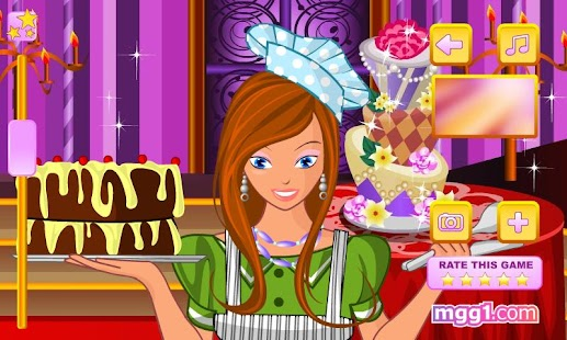 Pastry Chef Dress Up - screenshot thumbnail