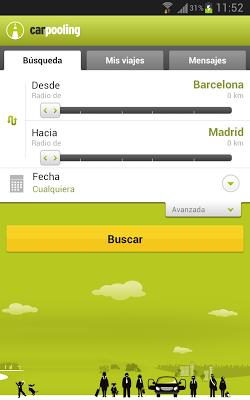 carpooling.es - screenshot