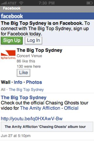 Big Top Sydney- screenshot