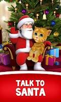 Screenshot of Talking Santa meets Ginger +