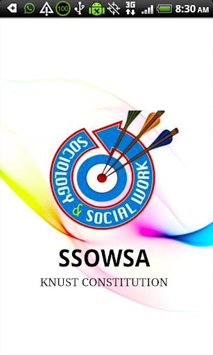 SSOWSA KNUST CONSTITUTION