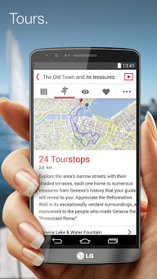 City Guide Genève - screenshot