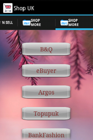 Shopping UK - screenshot