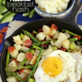 Pepperoni Breakfast Hash