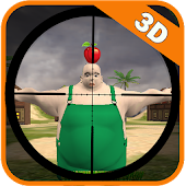 Sniper Shooter Apples 3D