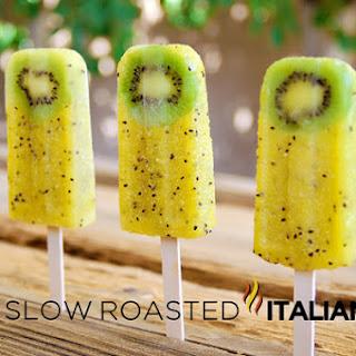 Kiwi Pineapple Popsicles