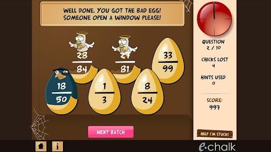 Chicken coop fraction games - screenshot thumbnail