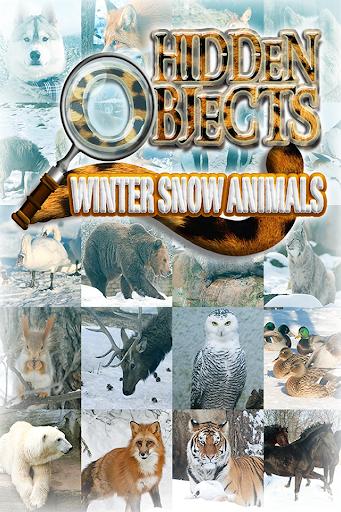 Hidden Object Winter Animals