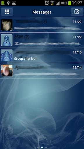 Smoke Paid GO SMS PRO THEM