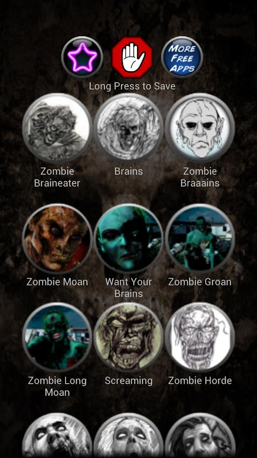 Zombie Ringtones - screenshot