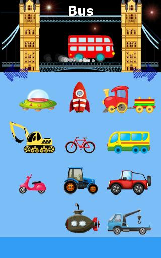 Funny Cars Game for Kids- screenshot