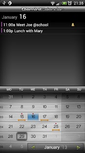 Gemini Calendar - screenshot thumbnail
