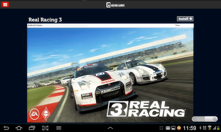 Racing Games Access For Tablet 1.0 screenshot 68215