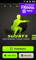 Screenshot of Squats Workout