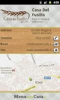 Screenshot of Casa del Fusillo