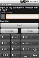Screenshot of Lacak Ponsel