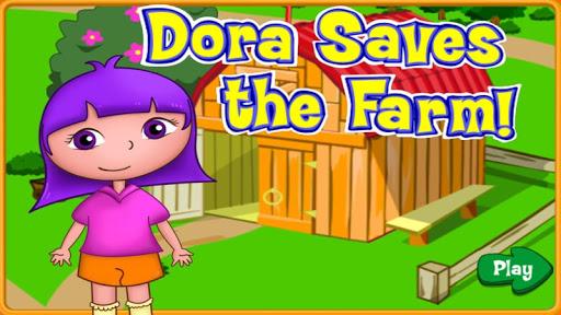 Dora saves the farm animals
