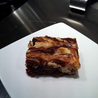 Dark Chocolate Coconut-Almond Brownies
