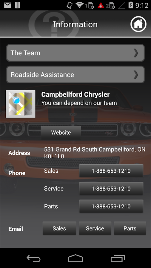 Campbellford Chrysler- screenshot