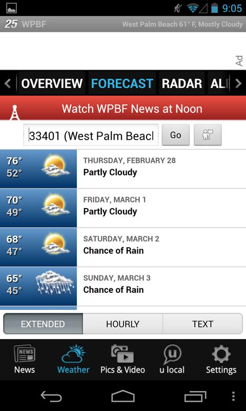 WPBF 25 News and Weather - screenshot